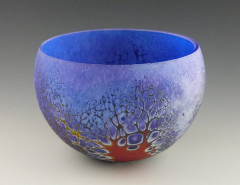 Small Elemental Bowl, lapis