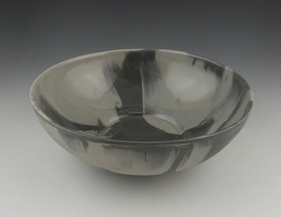 MarbleWare, Bowl, Charcoal