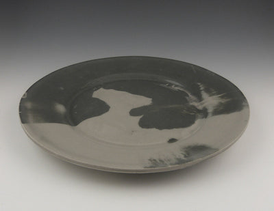 MarbleWare, Salad Plate, Charcoal, alternate view