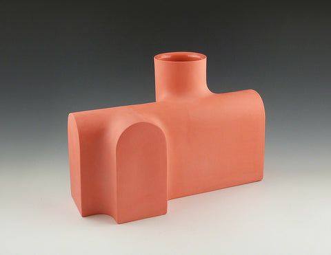 Section Vase A, salmon