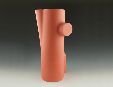 Section Vase B, salmon view 2