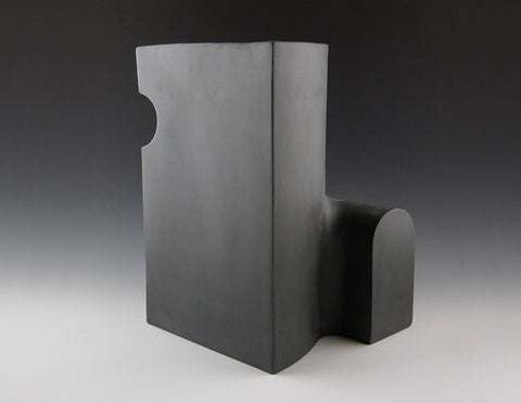 Section Vase C, charcoal