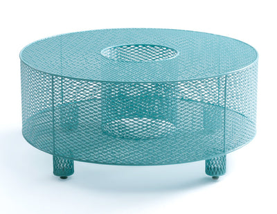 O Table turquoise