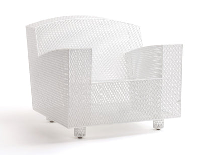 Philly club chair white