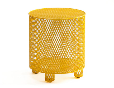 Punch Table yellow