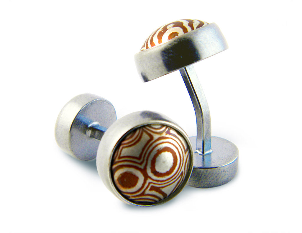 Dome Disc Cufflinks