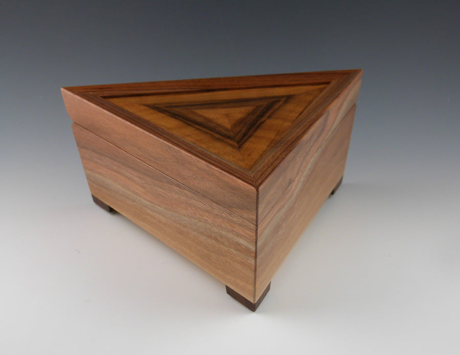 Triangle Box walnut