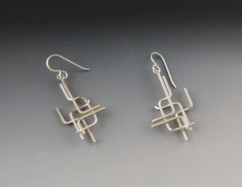 Pipe Dangle Earrings