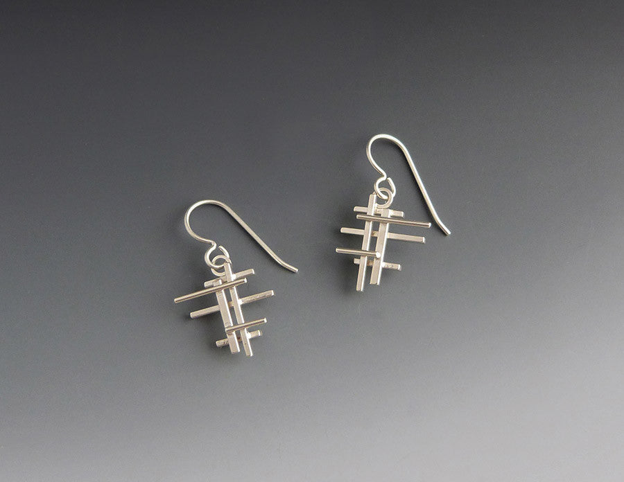 Scaffold Dangle Earrings