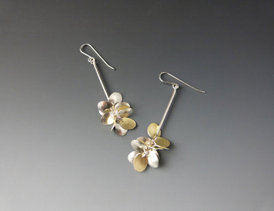 Drop Petal Earrings