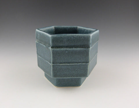 Honeycomb Cup, denim