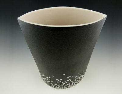 City Lights Vase, top view
