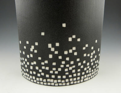 City Lights Vase, detail view