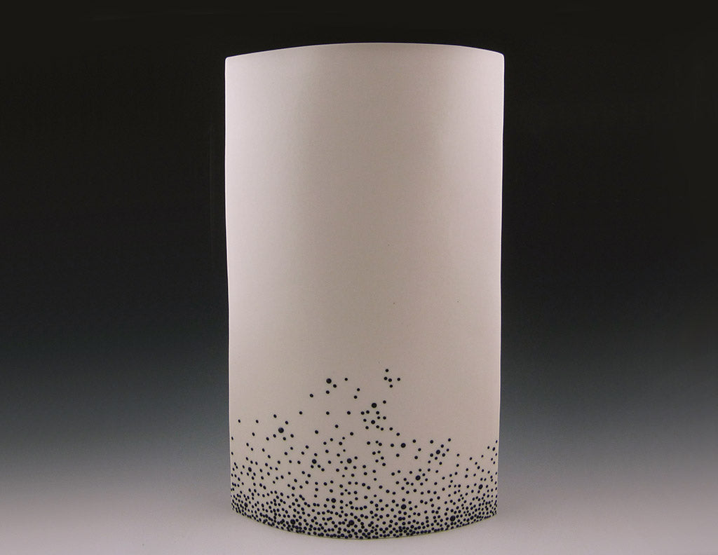 Confetti Vase, side view