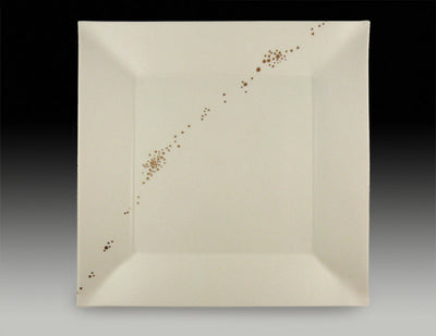 Gold Dust Square Plate