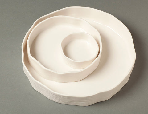 Irregular Circle Tray Set