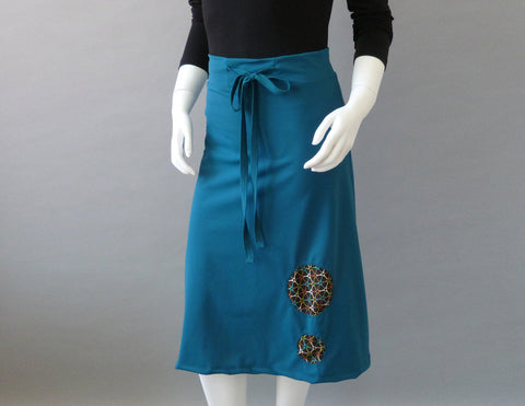 Luna Skirt teal