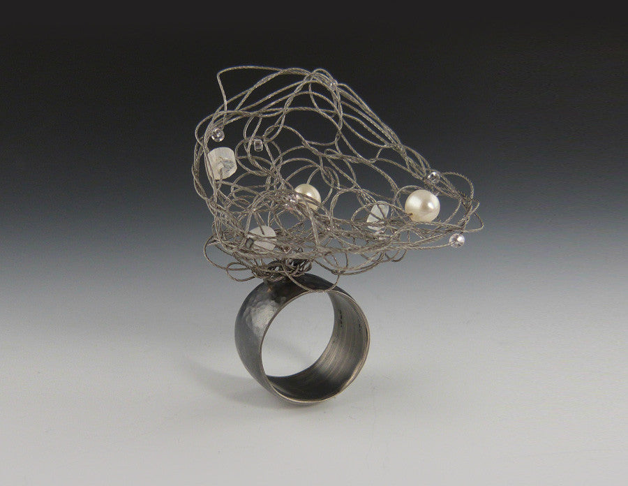 Nest Ring oxidized