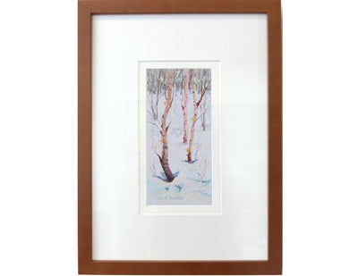 Three Birch in frame