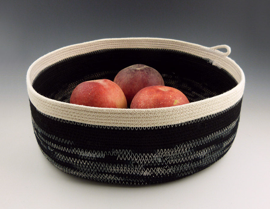 Large Rope Tray with fruit