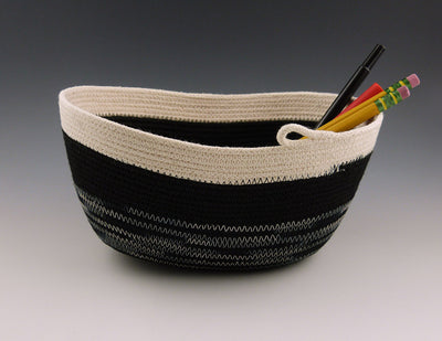 Rope Boat with pencils