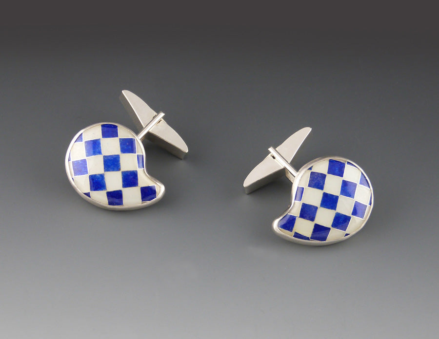 Checker Cufflinks