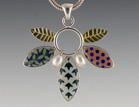 Multi Leaf Pendant