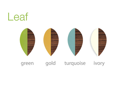 Leaf colors