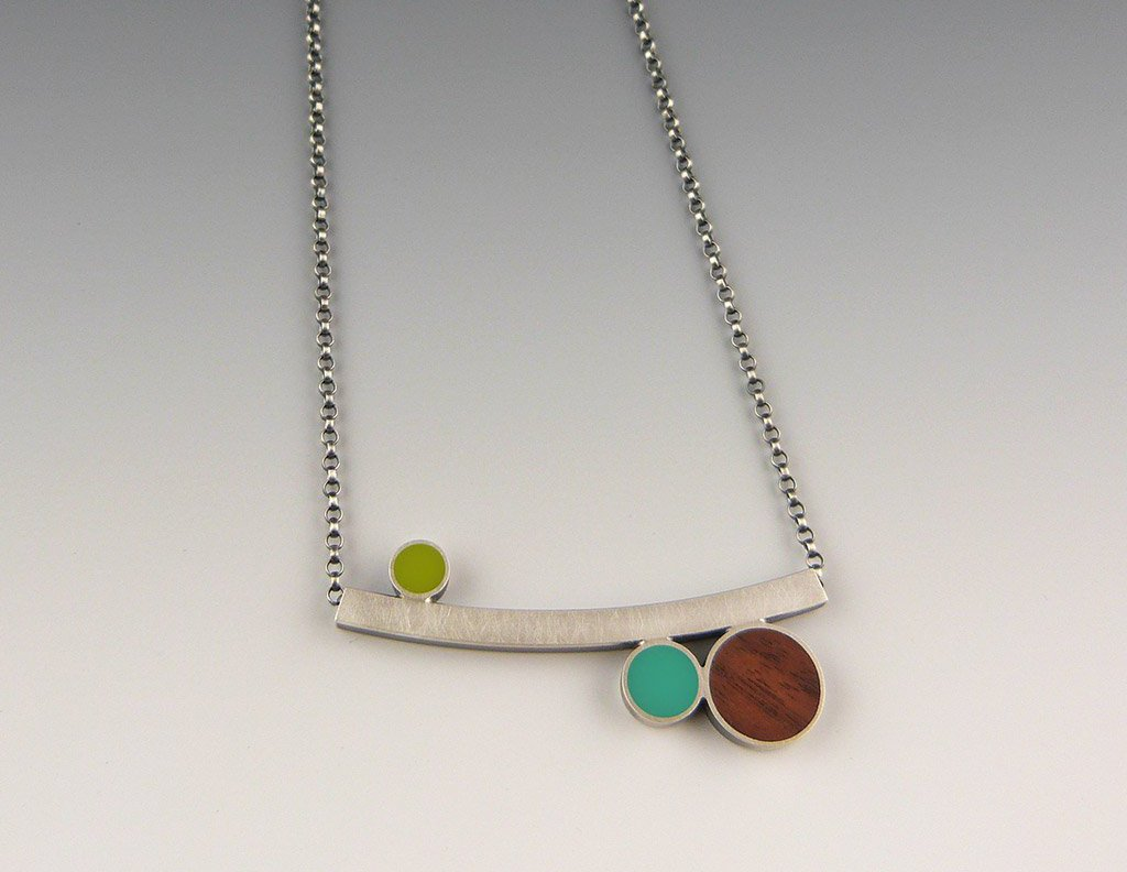 Sprout 3-Dot Necklace, Summer