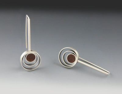 Orbit Small Drop Earrings