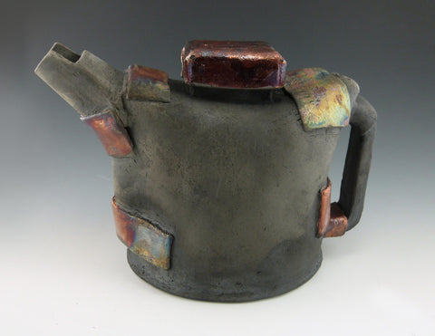 Raku Strapped Tea Kettle
