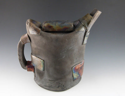 Raku Strapped Tea Kettle--Slim