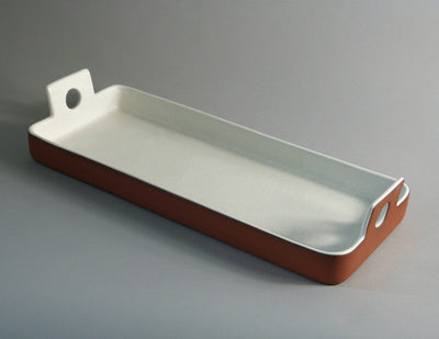 Large Rectangular Tray white