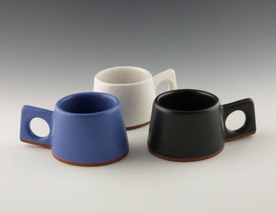 Espresso Cups colors group of three