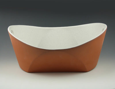 Handled Serving Bowl side view