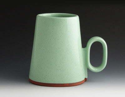 Oval Cup, turquoise