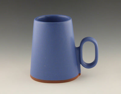 Oval Cup blue side view