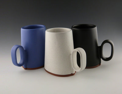 Oval Cups three colors