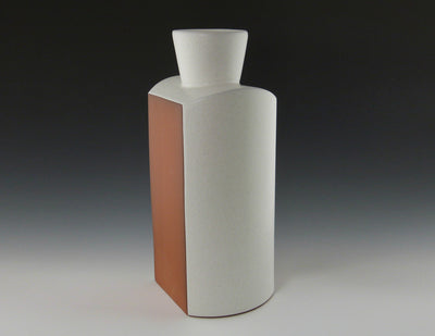 Square Shoulder Vase side view