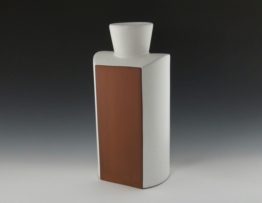 Square Shoulder Vase front view
