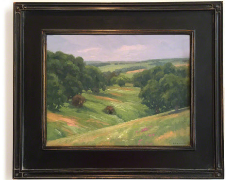 Mineral Point, framed