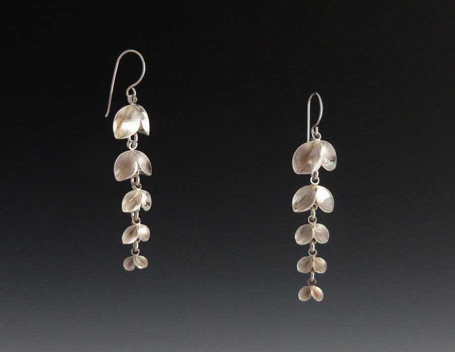 Five Leaf Dangle Earrings bright