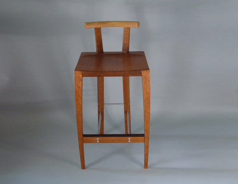 Counter stool front view