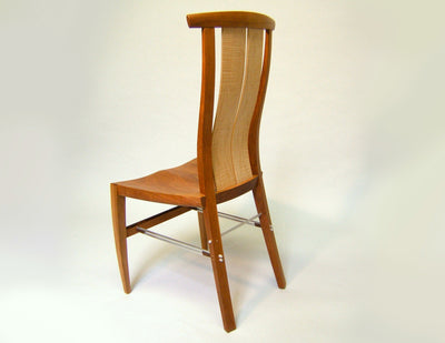 Dining Chair 3/4 back view