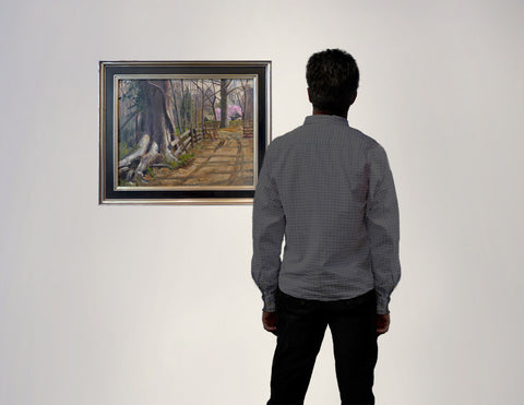 Behind The Labyrinth, gallery view