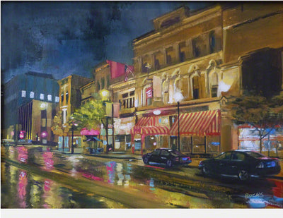 Third Street Rainy Night