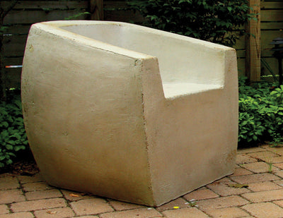 Van Dyke chair natural concrete