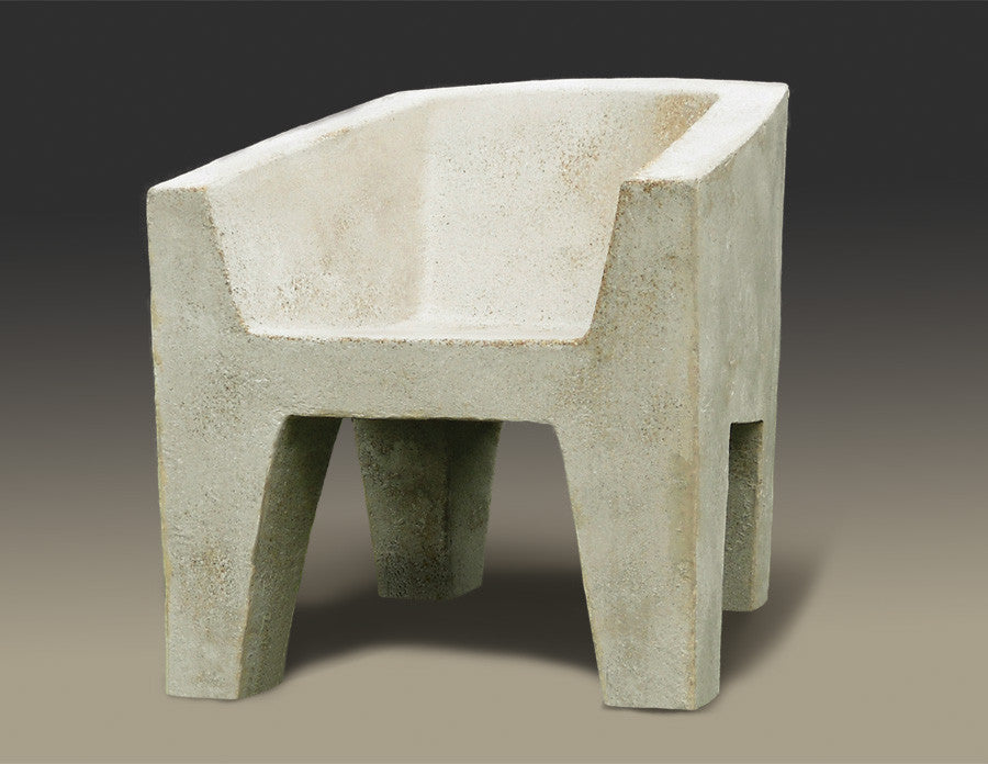 Van Eyke chair concrete