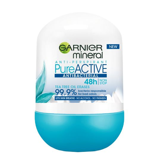 GARNIeR Mineral Pure Active Roll-on Antiperspirant (50 mL)