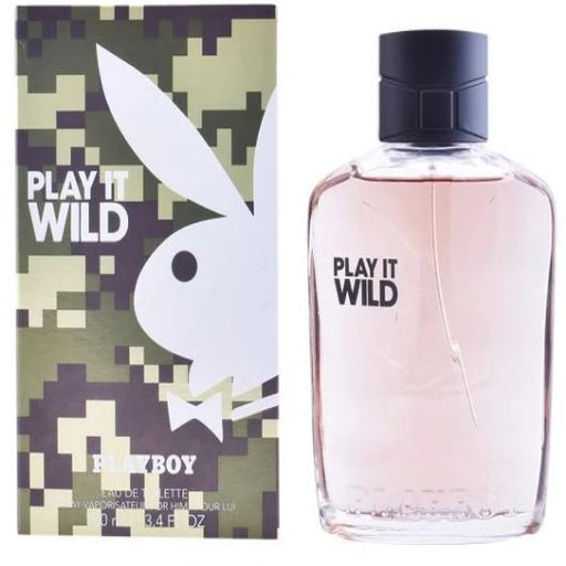 Perfume Homem Playboy Play It Wild Men EDT - 100 mL
